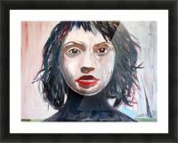 Eva Picture Frame print