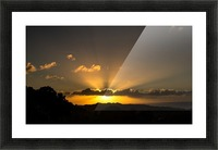 Yellow Skies Picture Frame print