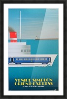 Simplon Orient Express Poster Picture Frame print