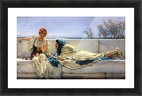 Asking by Alma-Tadema Picture Frame print