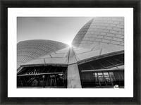 Curves at the Opera House Picture Frame print