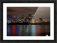 Colors of Sydney Picture Frame print