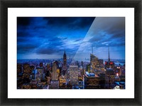 Empire State of Mind Picture Frame print