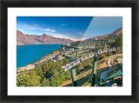 Towering over Lake Wakatipu Picture Frame print
