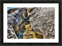 Gods Own Watering Hole Picture Frame print