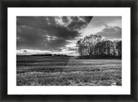 After Prairie Harvest Picture Frame print