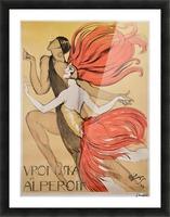 Varonska et Alperoff poster Picture Frame print