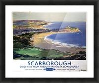 Scarborough British Railways poster Picture Frame print