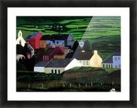 IRELAND VILLAGE Picture Frame print