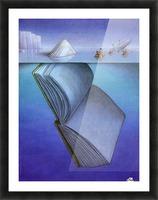 iceberg Picture Frame print