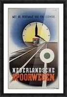 Nederlandse Spoorwegen Poster Picture Frame print