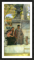 At the time of Constantine by Alma-Tadema Picture Frame print
