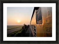 Quetta - Karachi train Picture Frame print