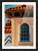 KANSAS CITY COUNTRY CLUB PLAZA Picture Frame print