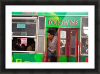 Follow Me Picture Frame print