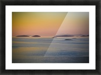 Adriatic islands Picture Frame print