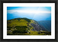 Alpine views Picture Frame print
