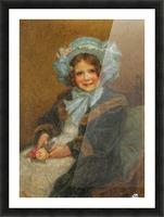 Joyce, daughter of Arthur E J Hinchcliffe Esq Picture Frame print