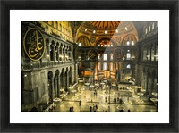 Hagia Sophia Picture Frame print
