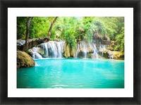 Luang Prabang waterfalls Picture Frame print