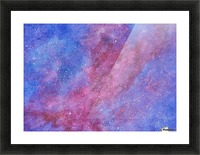 Galaxis Picture Frame print