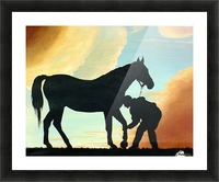 Let Me Look! Picture Frame print