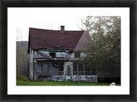 Rural Decay II Picture Frame print