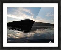 Ancient Hills, Open Water  Picture Frame print