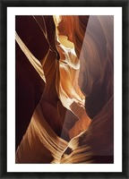 Antelope Canyon 1 Picture Frame print