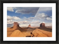 Monument valley 2 Picture Frame print