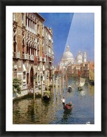 Grand Canal Picture Frame print