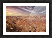 Grand Canyon Sunset Picture Frame print