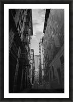 New York Street Picture Frame print