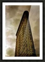 New York Flatiron Building Picture Frame print