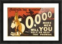 Australia has promised Britain Picture Frame print