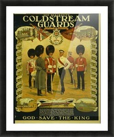 Coldstream Guards Picture Frame print