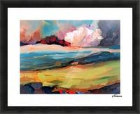 Dark Cloud Picture Frame print