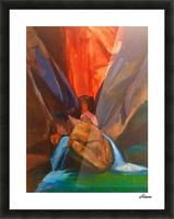 Zion Picture Frame print