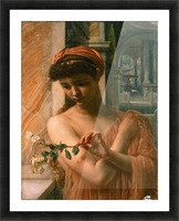 Psyche in the temple of love Picture Frame print