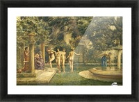 A visit to Aesculapius Picture Frame print