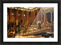 The Visit of the Queen of Sheba to King Solomon Picture Frame print