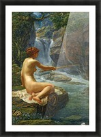 The Nymph of the Stream Picture Frame print