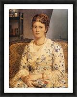 Portrait of Mrs J P Heselitine Picture Frame print