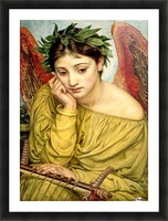 Erato, Muse of Poetry Picture Frame print