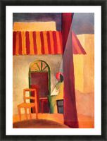Turkish Cafe by August Macke Picture Frame print