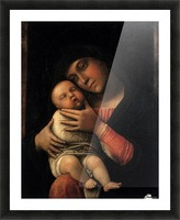 Portrait of Virgin and Child Picture Frame print