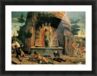 The Resurrection Picture Frame print