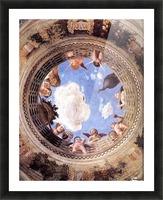 Mantegna Ceiling Oculus in the Camera degli Sposi, Mantova Picture Frame print