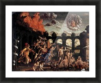 Pallas Expelling the Vices from the Garden of Virtue Picture Frame print