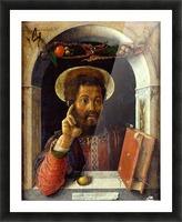 Saint Mark Picture Frame print